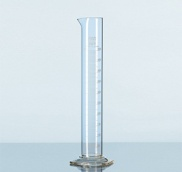Ống đong chia vạch đế lục giác, class B - SCHOTT - DURAN